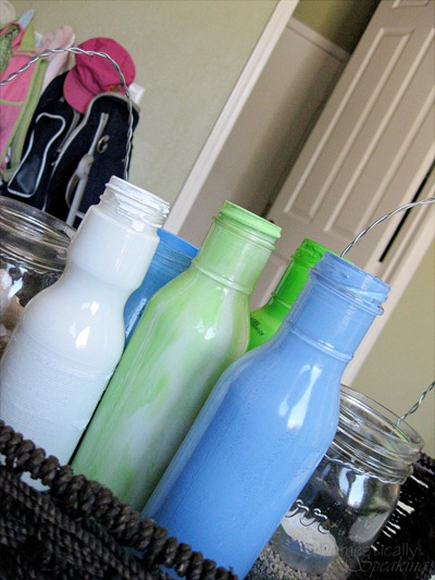 Painted Bottles - Pic 1