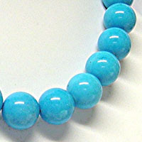 Turquoise Howlite Beads